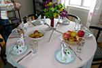 Fastenbilder Tisch